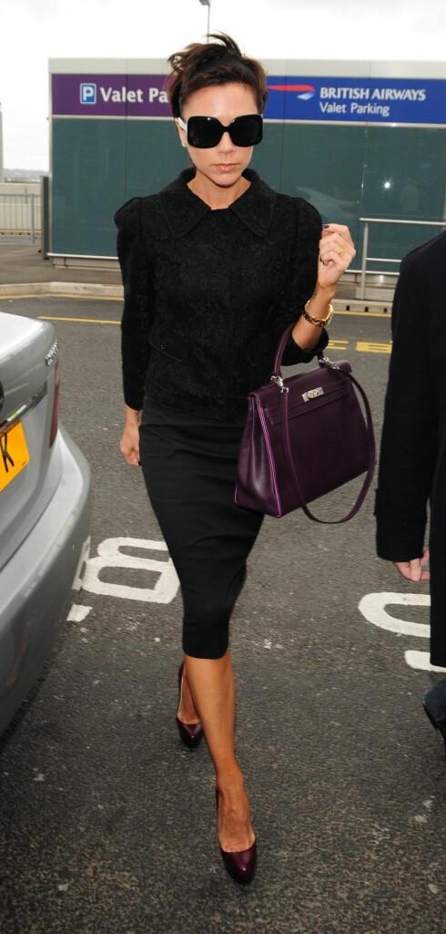 DYR LIDENSKAP: Visste du at Victoria Beckhams samling av mer enn 100 Birkin-vesker er verdt rundt 15 millioner kroner?   Foto: NTB scanpix