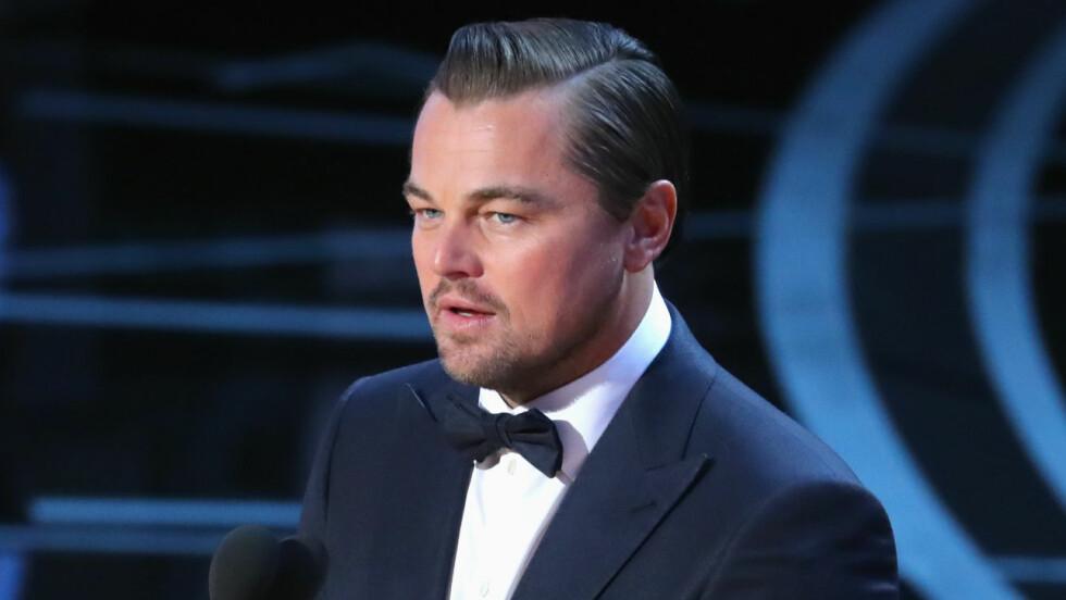 LEONARDO DICAPRIO: Ser du noe spesielt ved øyenbrynene til Hollywood-kjekkasen? Foto: Reuters