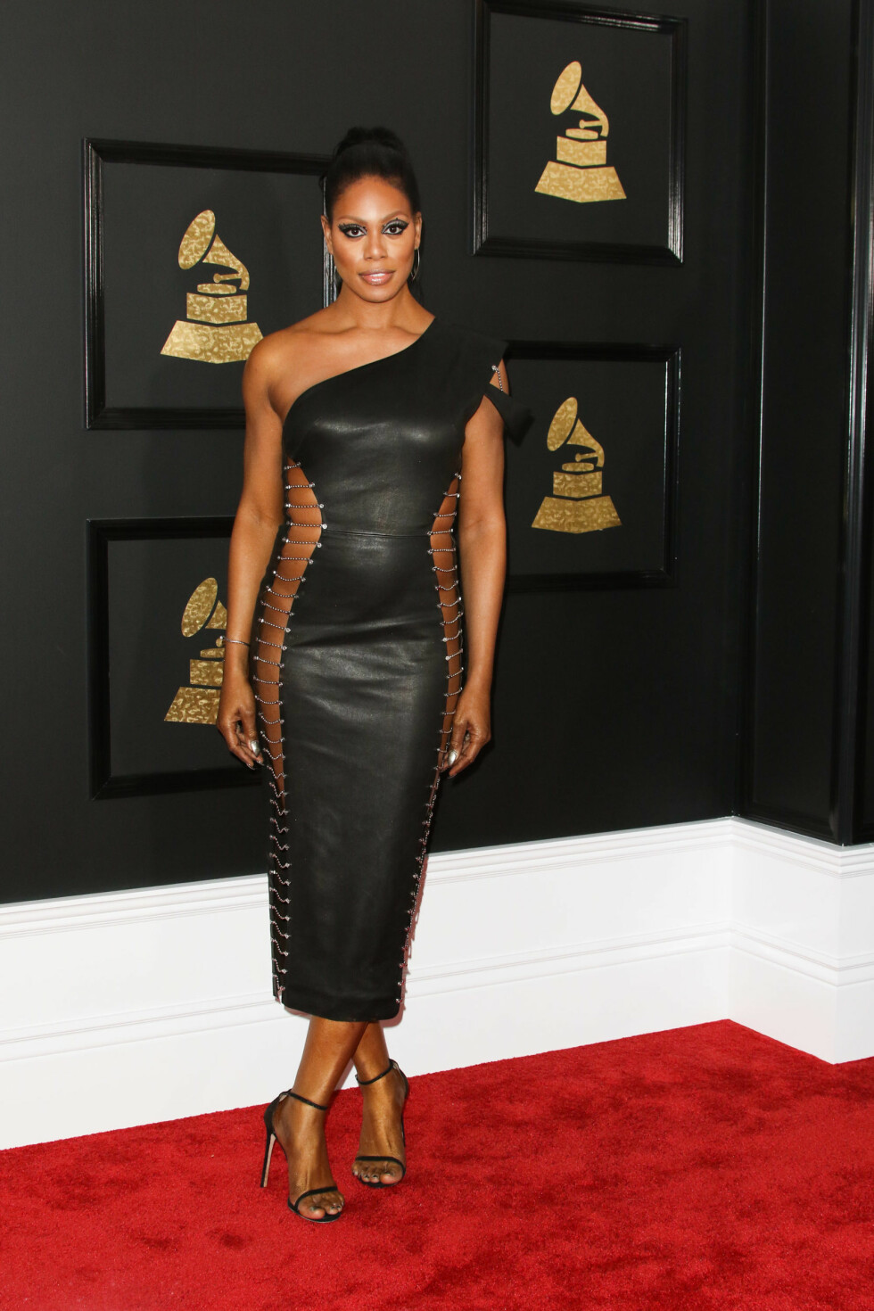 GRAMMY AWARDS: Laverne Cox i Bryan Hearns Foto: SipaUSA
