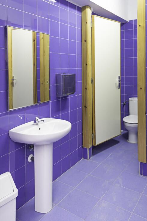 TVANGSTANKE: For noen er offentlige toalett det aller verste.  Foto: Fotolia