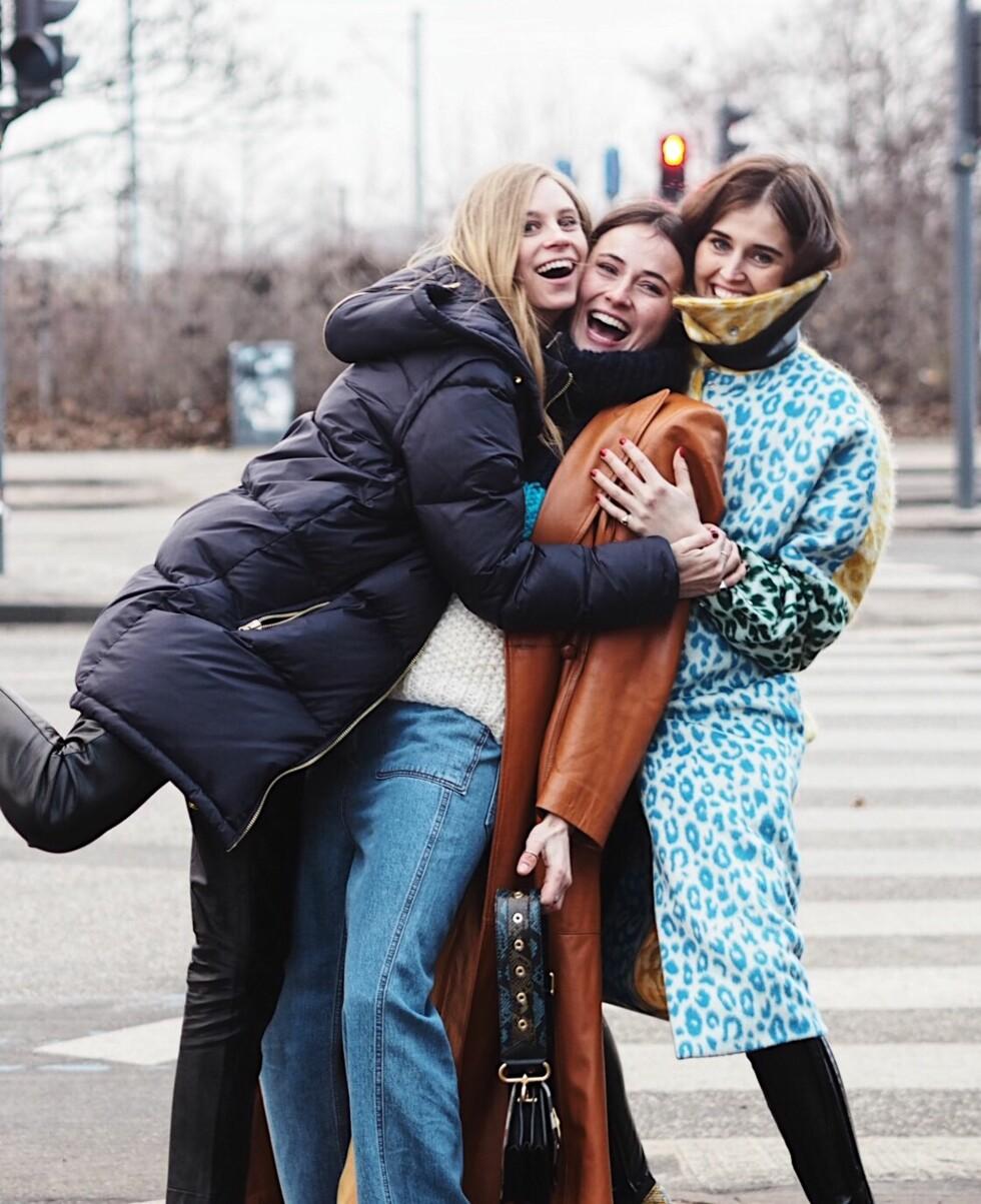 MOTEUKEN I KØBENHAVN: Tine Andrea, Lena Lademann og Darja Barannik Foto: Malin Gaden