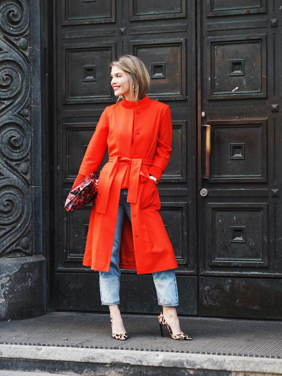 OSLO RUNWAY: Gine Margrethe Foto: Malin Gaden