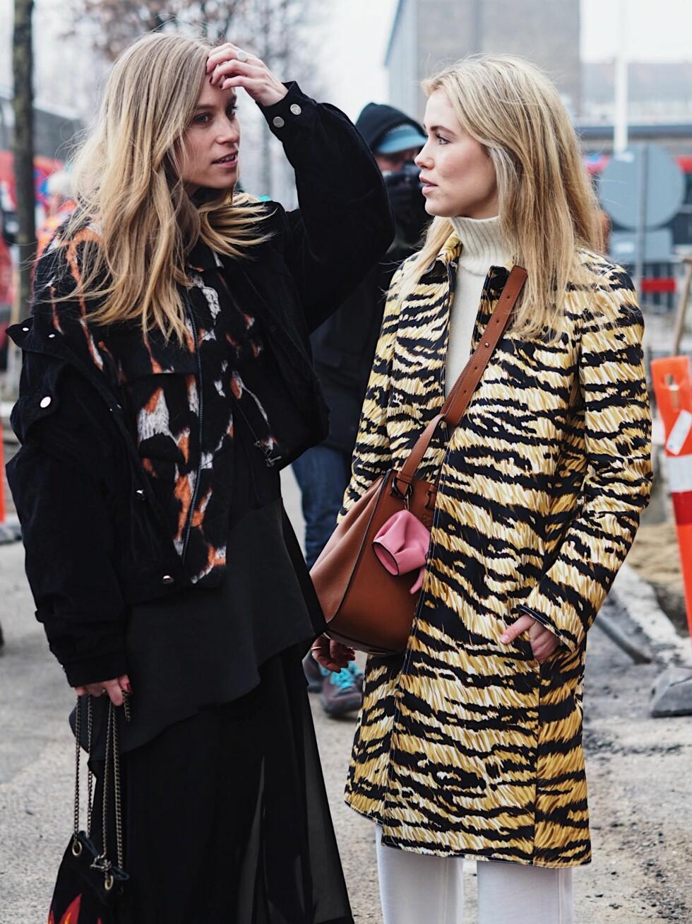 MOTEUKEN I KØBENHAVN: Tine Andrea og Annabel Rosendahl Foto: Malin Gaden