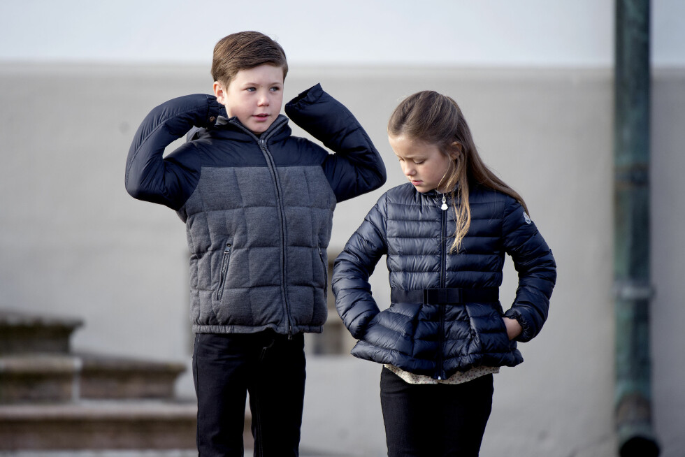 <strong>PRINS CHRISTIAN:</strong> Her er prins Christian sammen med prinsesse Isabella. Foto: Scanpix Denmark