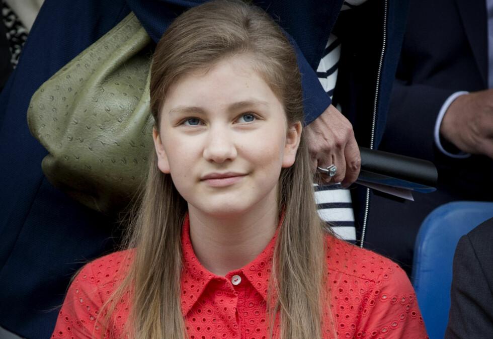 <strong>PRINSESSE ELISABETH:</strong> Hun er den neste i køen til den belgiske tronen. Foto: NTB scanpix