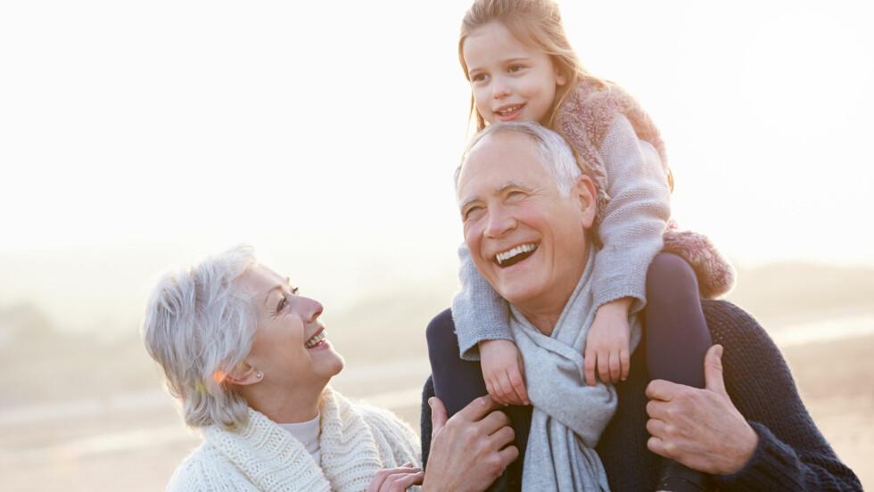 ALDERDOM: Om rundt 40-50 år kan antallet hundreåringer i befolkningen ha nidoblet seg.  Foto: NTB Scanpix