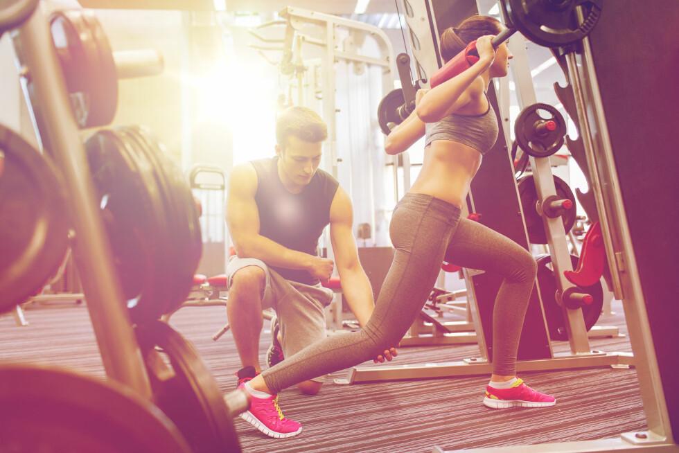 BESTEM DEG: - Hvis du ønsker å øke i styrke/volum bør du bestemme deg for en viss treningsmengde og antall repetisjoner, og starte med en vekt og øke vekt gradvis. Foto: Shutterstock / Syda Productions