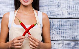 Chili er kanskje ikke effektivt som slankemiddel, men har likevel mange helsefordeler
