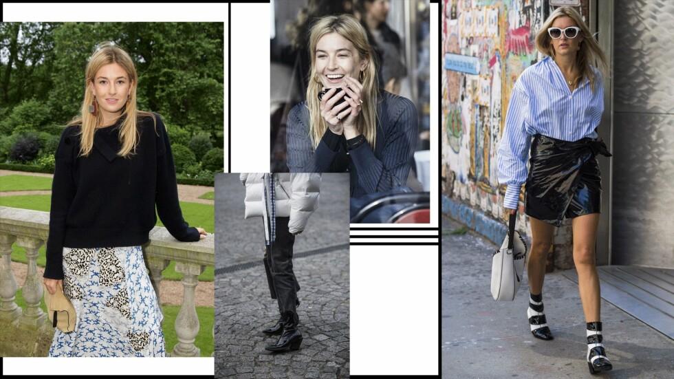 KUL STIL: Vi elsker hvordan Camille Charriere kler seg.    Foto: Scanpix