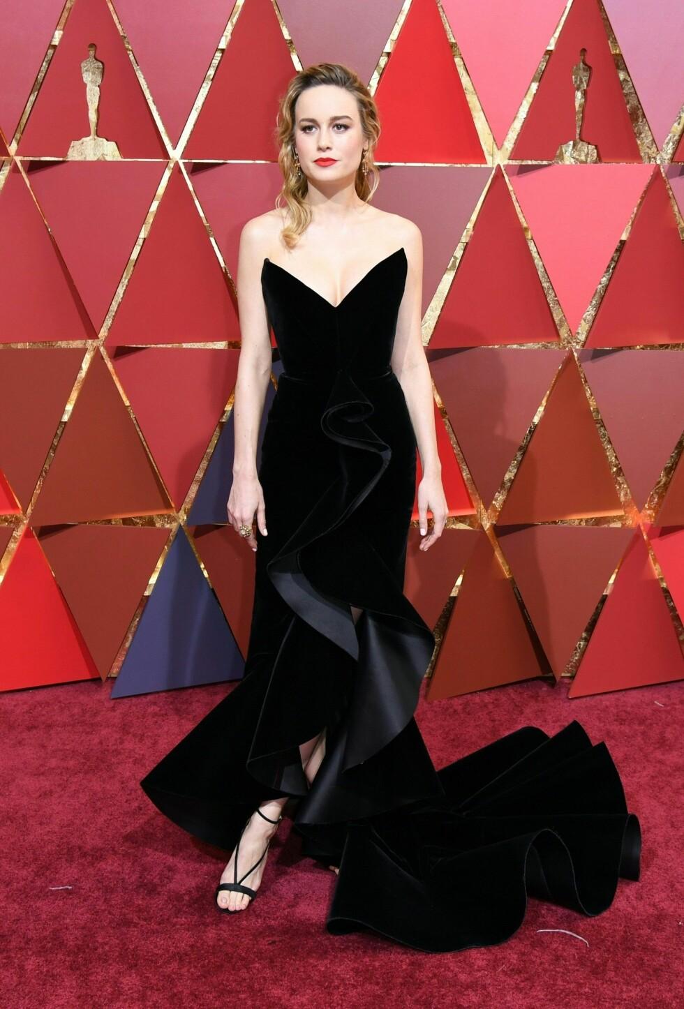 OSCAR 2017: Brie Larson i Oscar de la Renta Foto: AFP