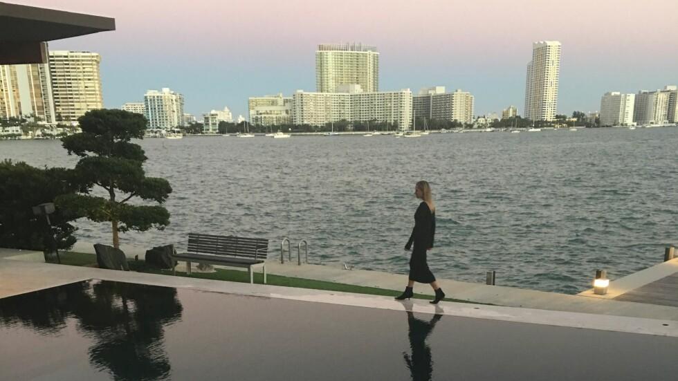 DESIGNER KOLLEKSJON: Den nye kolleksjonen til Celine Aagaard fotograferes av Ray Kay i Miami. Foto: Privat