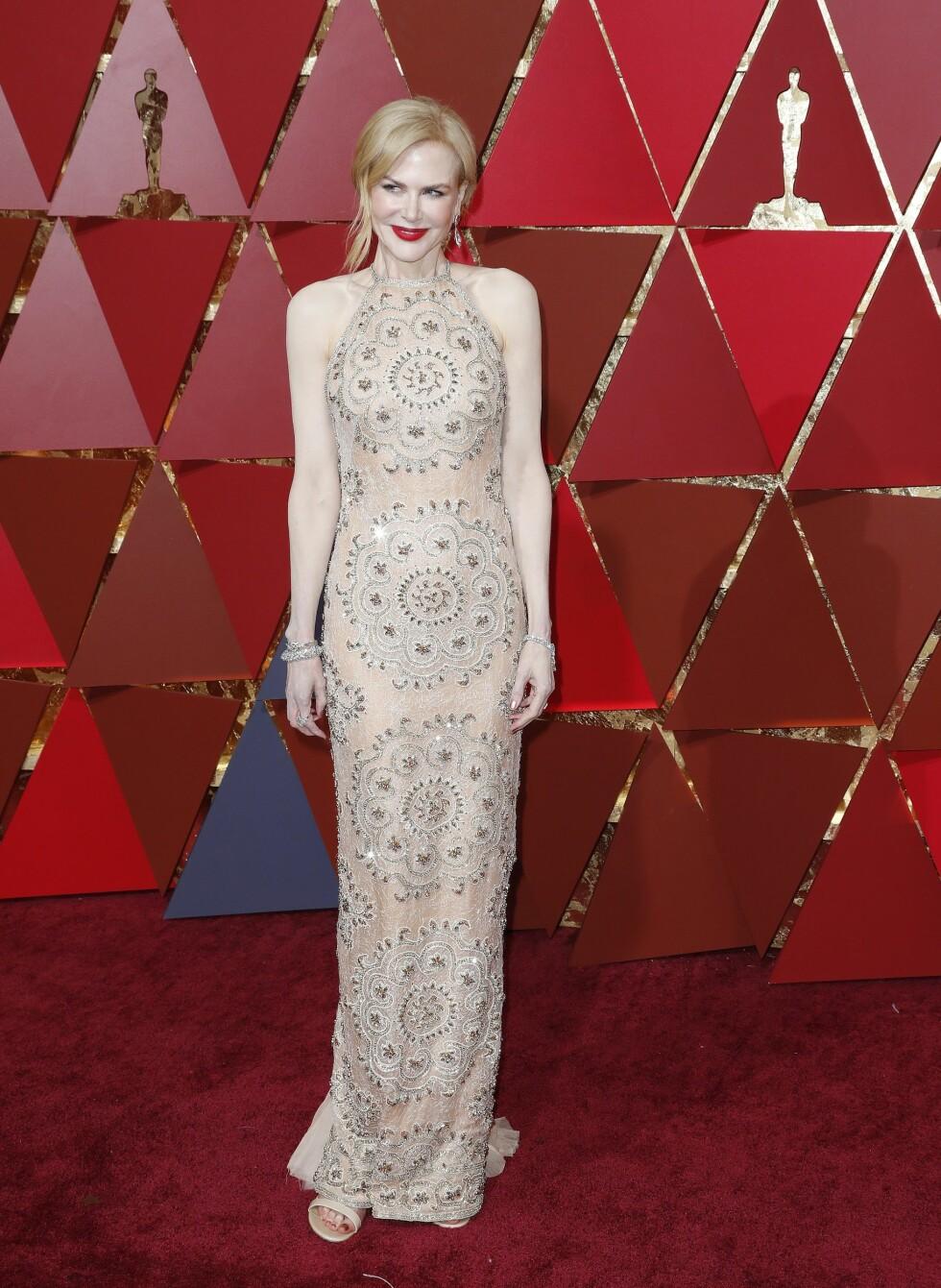 OSCAR 2017: Nicole Kidman i Armani Prive Foto: Epa