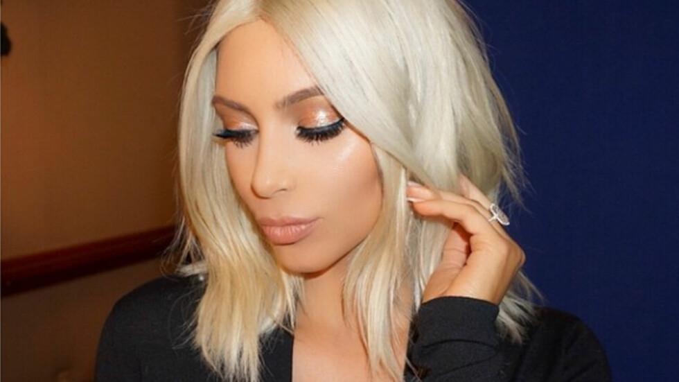 HÅRFRISYRER: Det er ikke bare i det store utland helbleket blondt hår er populært. Også her i Norge er den store trenden kortklippet og blondt hår. Så hvorfor ikke ta en Kim Kardashian neste gang du skal til frisøren?   Foto: Xposure
