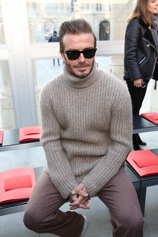LOUIS VUITTON: David Beckham Foto: Abaca