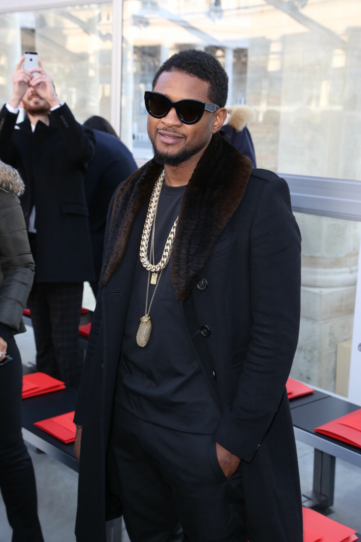 LOUIS VUITTON: Usher  Foto: Abaca