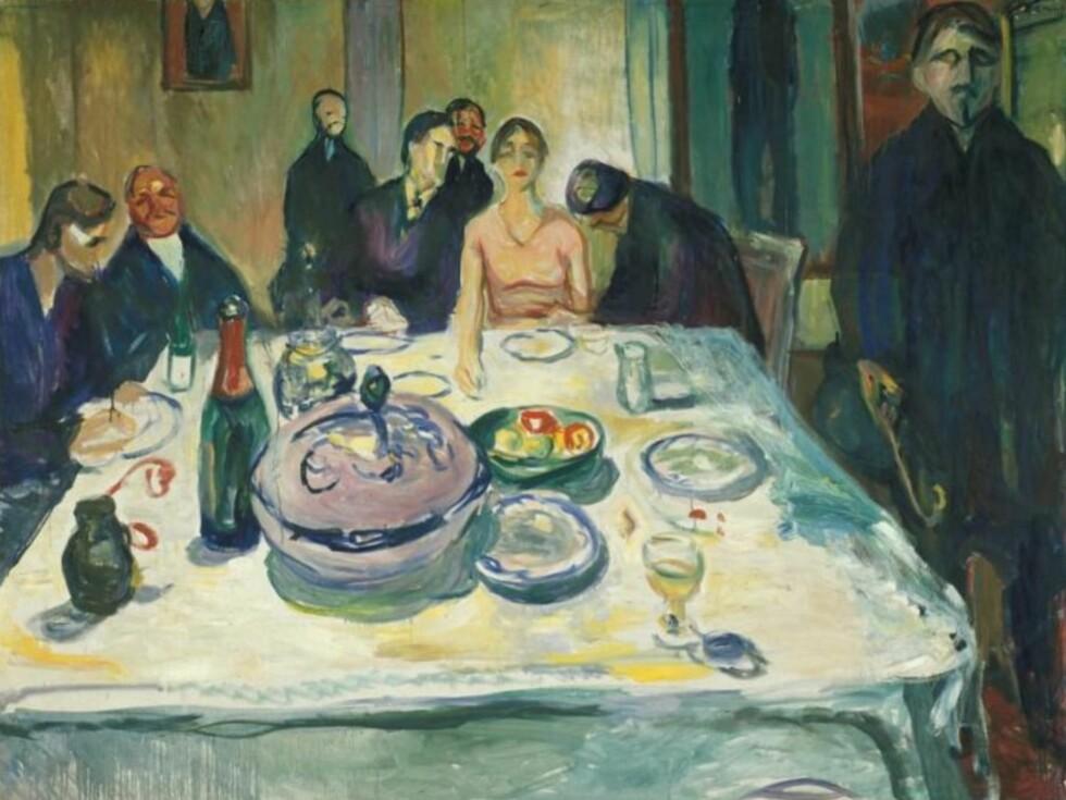 EDVARD MUNCH: «Bohemens bryllup» (1925–26). Foto:  Foto: © Munchmuseet