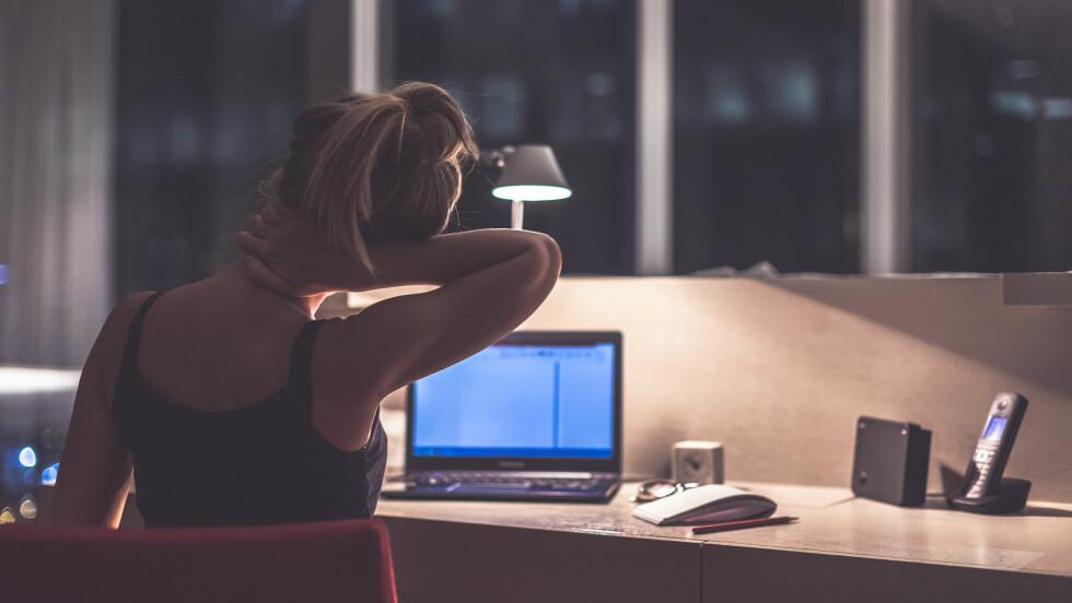 RYGGSMERTER: Nakke og rygg nå er vårt største helseproblem og årsak til nedsatt livskvalitet, foran angst og depresjonslidelser. Foto: Shutterstock / Fulltimegipsy
