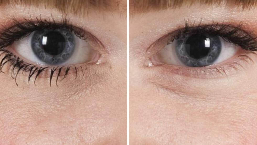 SMINKEN SOM GJØR DEG GAMMEL: Masse svart maskara på undervippene er en vanlig sminketabbe som kan gjøre at du ser mye eldre ut enn du egentlig er.  Foto: KK.no