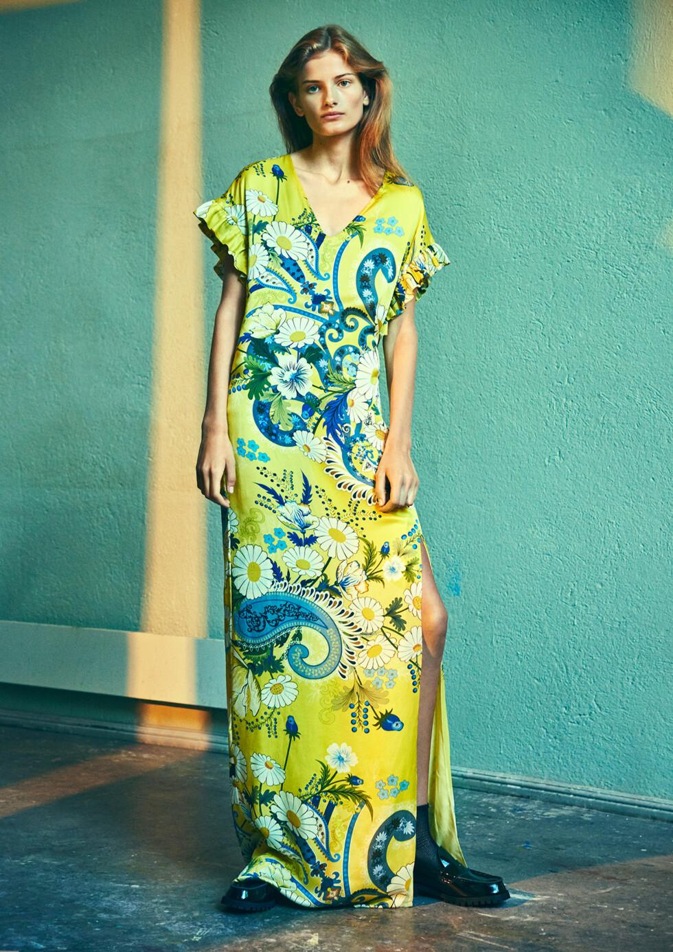 HOLZWEILER SS17: Denne kjolen får oss til å glede oss så til sommer! Foto: Holzweiler
