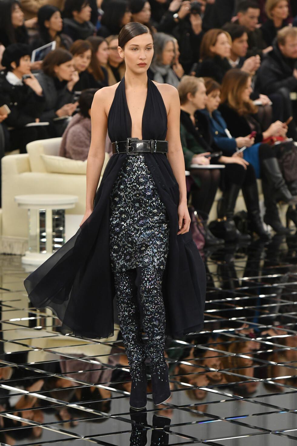 Chanel Haute Couture SS17: Bella Hadid Foto: Abaca