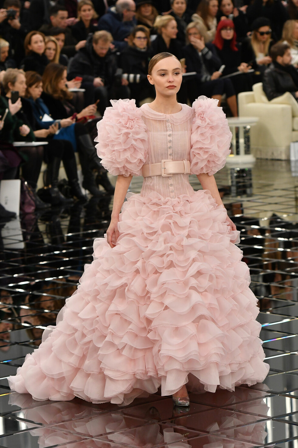 Chanel Haute Couture SS17: Lily-Rose Depp Foto: Abaca