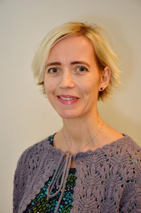 EKSPERT: Førsteamanuensis ved Universitetet i Agder, Heidi Omdal, har en doktorgrad i spesialpedagogikk med fokus på selektiv mutisme og har i tillegg skrevet bok om emnet. Foto: FOTO: Universitetet i Agder