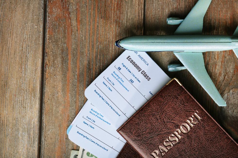 <strong>BESTILL 56 DAGER I FORVEIEN:</strong> Eksperten forteller at det lønner seg å bestille flybilletter 56 dager i forveien.  Foto: Shutterstock / Africa Studio