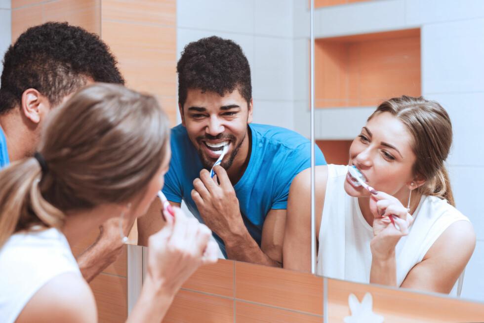 <strong>TANNHYGIENE:</strong> Tannhelsen kan ha en sammenheng med resten av kroppen din, ifølge ny forskning.  Foto: Shutterstock / Ivanko80