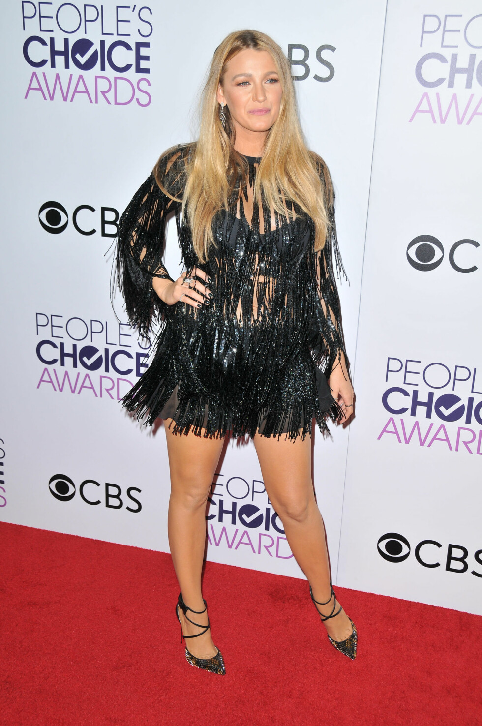PEOPLE'S CHOICE AWARDS: Blake Lively. Foto: SipaUSA