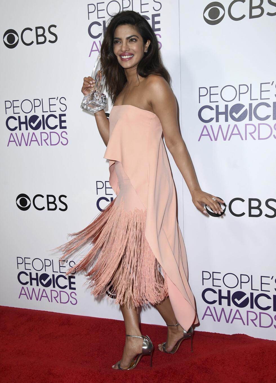 PEOPLE'S CHOICE AWARDS: Priyanka Chopra. Foto: AP
