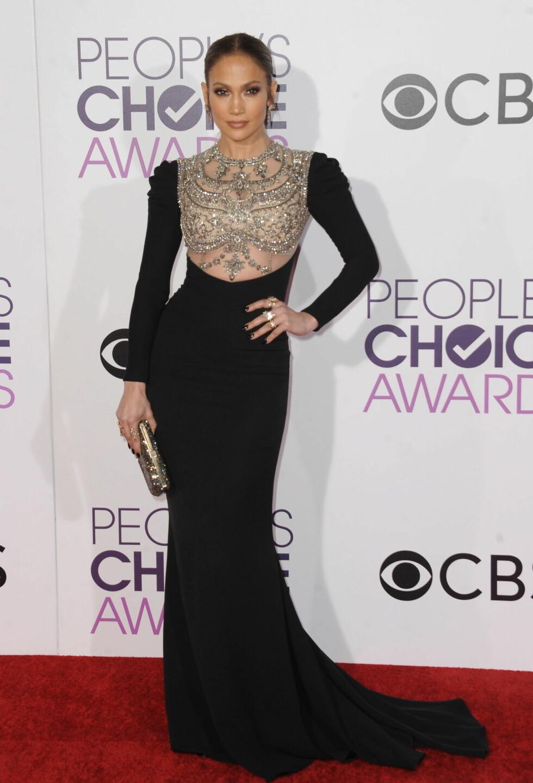 PEOPLE'S CHOICE AWARDS: Jennifer Lopez. Foto: Zuma Press