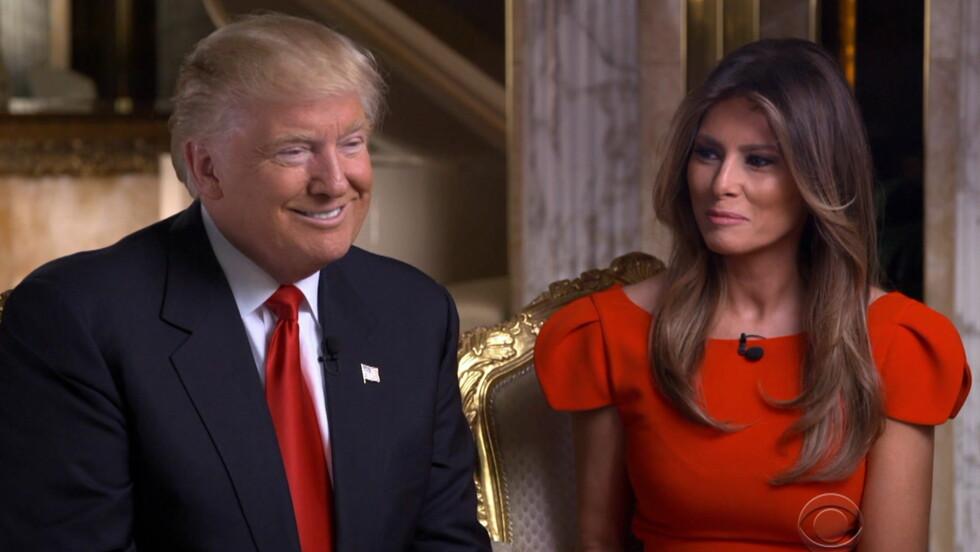 NY PRESIDENT: 20. januar er Donald Trump offisielt USAs nye president. Melania Trump er deres nye førstedame. Foto: wenn.com