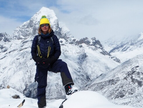 REISEBLOGGER: Elisa Røtterud har besøkt Nepal flere ganger, og ivrer for at vi skal ta turen også.  Foto: Privat
