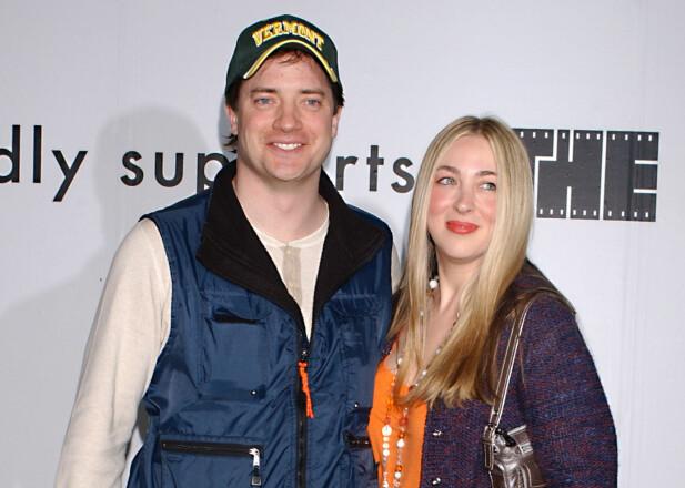 BRENDAN FRASER: Etter 9 års ekteskap skilte Brendan Fraser seg fra kona Afton Smith.  Foto: Ap
