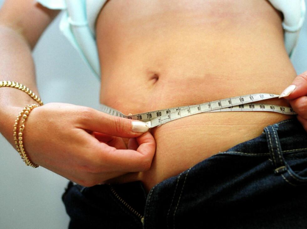 - Slanking ved hjelp av ulike slankekurer funker svært sjelden i lengden. Du må prøve å gjøre små varige endringer som du beholder, sier Ina Garthe. Foto: colourbox.com