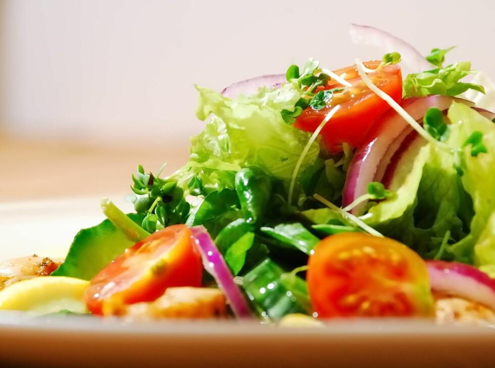 Kostholdet inneholder stort sett grønnsaker.  Foto: All Over Press