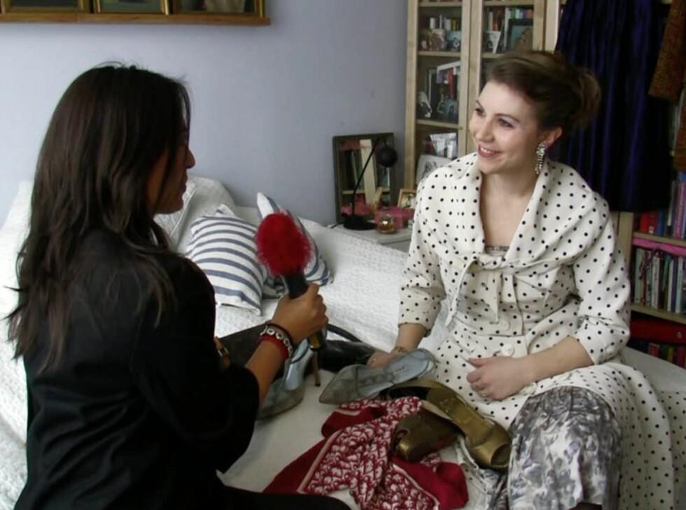 VINTAGERÅD: Linda Vasquez og Kjersti Skar Staarvik i samtale om hvordan man gjør vintage-kupp. Foto: Per Ervland