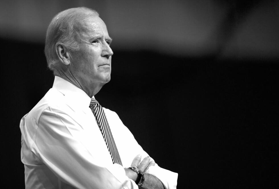 JOE BIDEN: Den tidligere visepresidenten, nå presidentkandidat, har vært gjennom mye sorg i løpet av sine 77 år. Foto: Scanpix