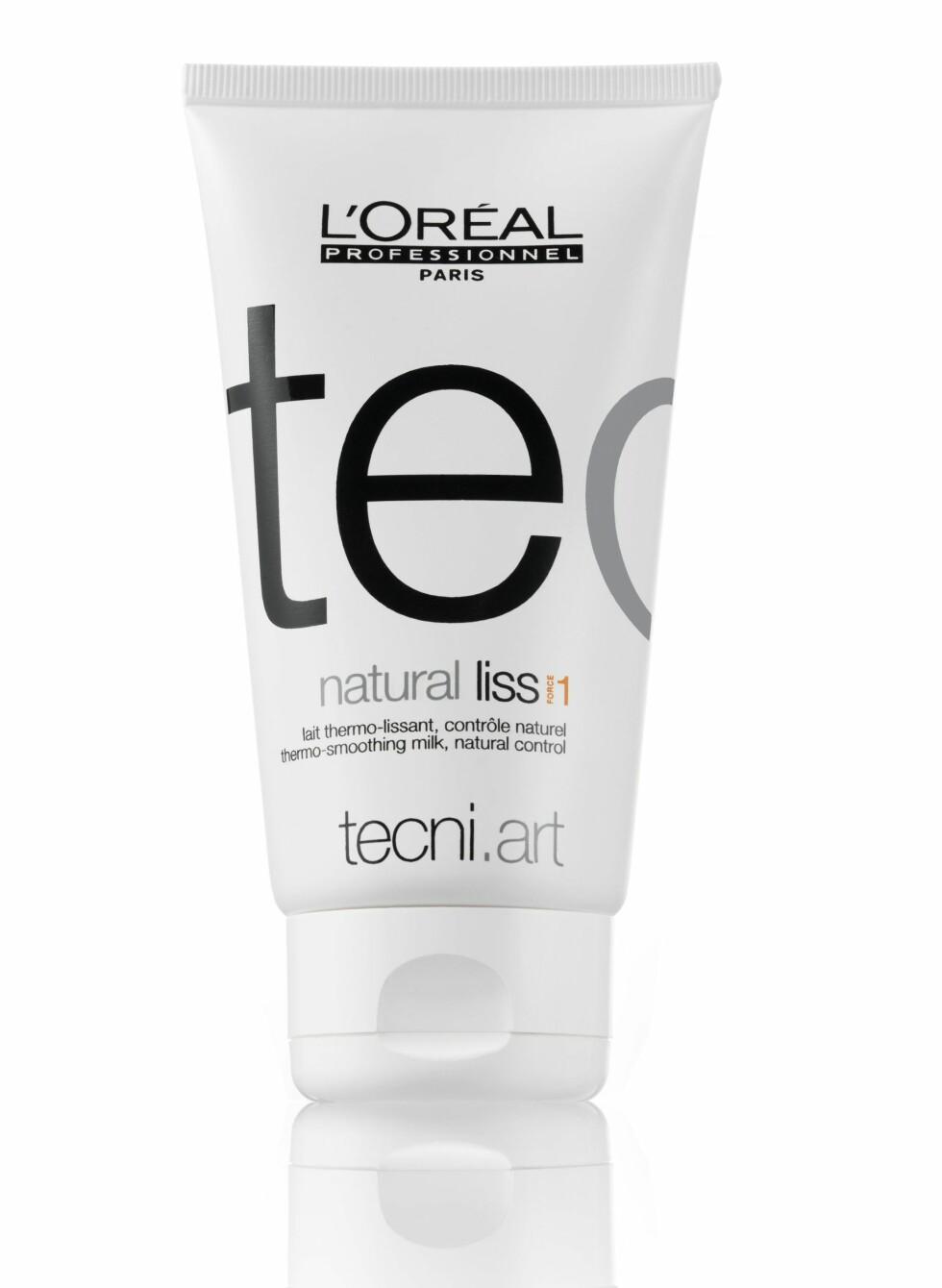 Er du glad i rettetangen din? Da kan du oppleve at den sliter på håret. L'Oréal Professionell har lansert en hårpleie som skal beskytte håret mot skader som skyldes rettetang og føner. Den gjør også håret glatt og mykt, og er perfekt som har litt uregjerlig hår (kr 209, L'Oréal).
