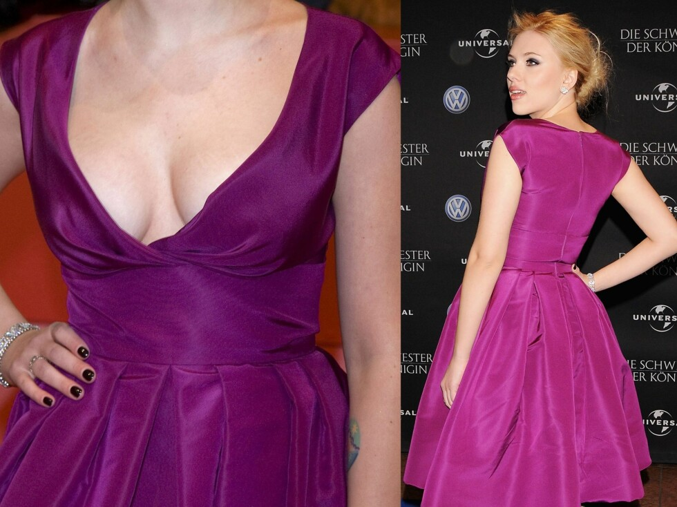 Skuespiller Scarlett Johansson er kjent for sin yppige timeglassfigur og er stadig i teten på lister over verdens mest sexy kvinner.  Foto: All Over Press