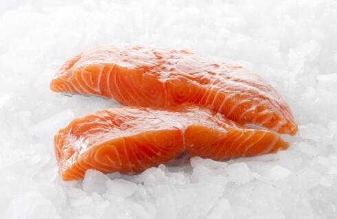 Laks er en av de aller beste kildene til D-vitamin. Foto: colourbox.com