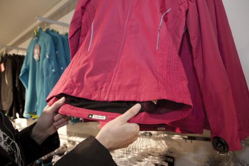 Trener du ute bør du ha en jakke med sterke farger. Da blir du mer synlig. Foto: Per Ervland