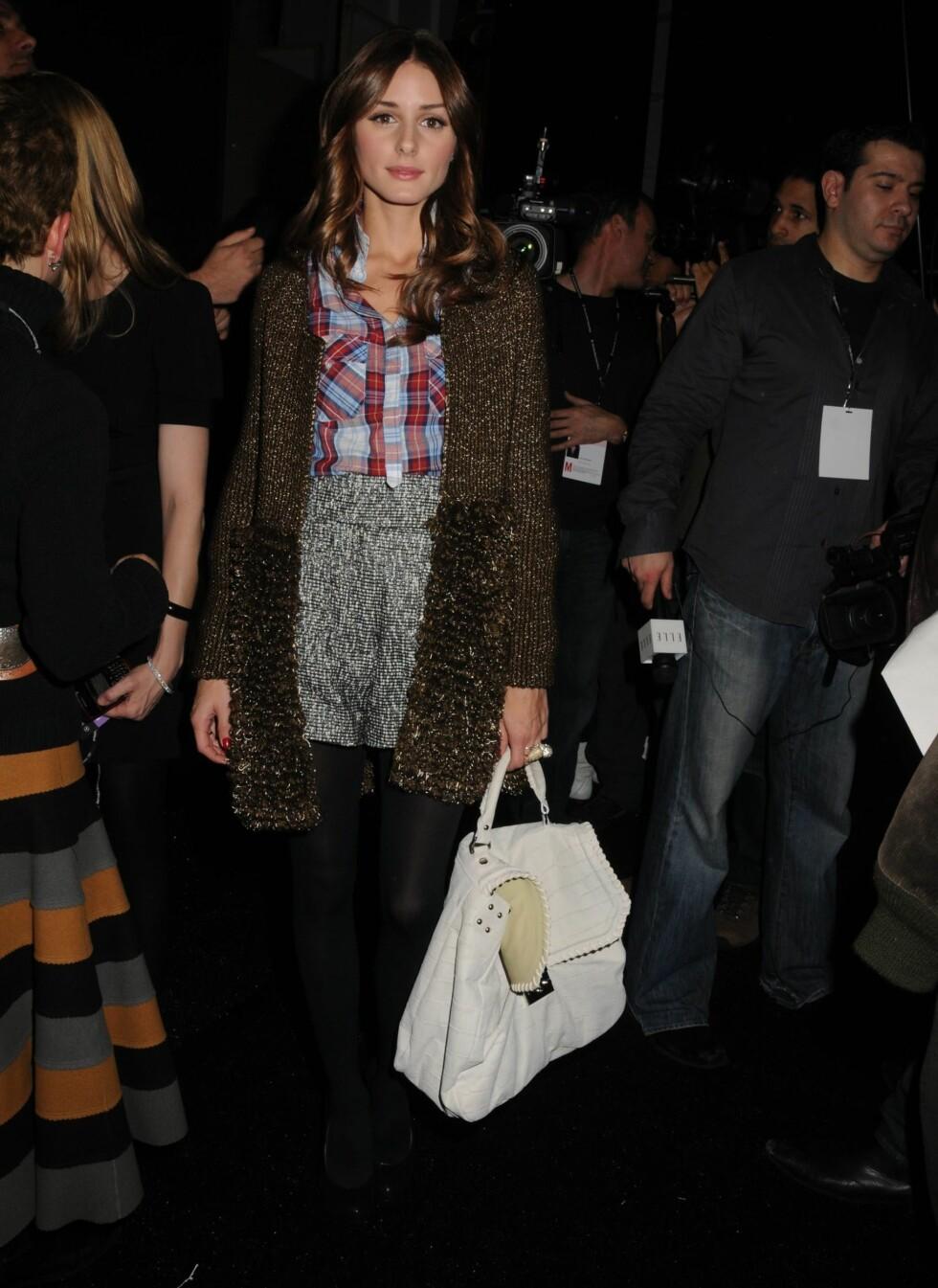 Olivia Palermo er kjent fra New Yorks sosietesliv. Hun har også blitt kåret til en av årets mest velkledde kvinner i 2009.  Foto: All Over Press