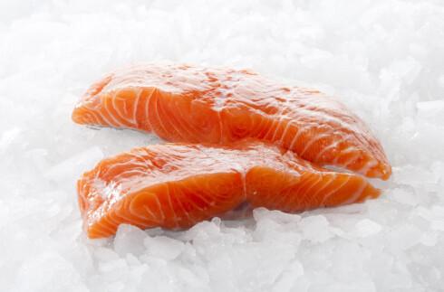 Laks inneholder både protein og omega-3. Foto: colourbox.com