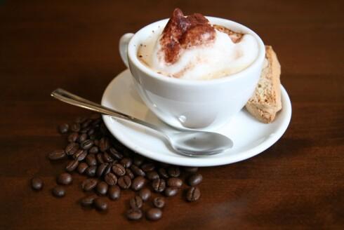Kaffe før trening? Ja takk! Foto: Colourbox