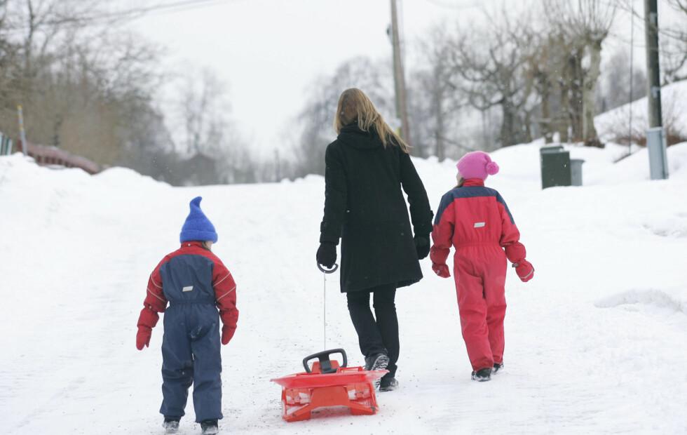 HUSK: Barn bør få dobbel dose med fysisk aktivitet, og bør være aktive i minst 60 minutter hver dag.  Foto: Colourbox.com