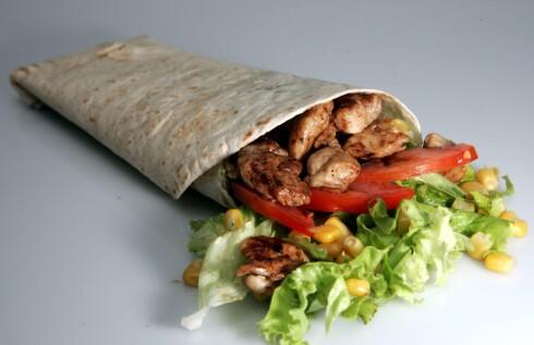 Visste du at en burrito kan være bra for humøret? Foto: colourbox.com