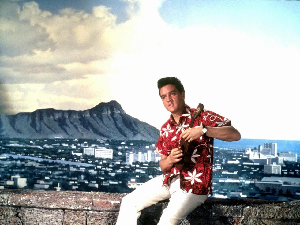 Elvis slo også et slag for Hawaii-skjorta Foto: All Over Press