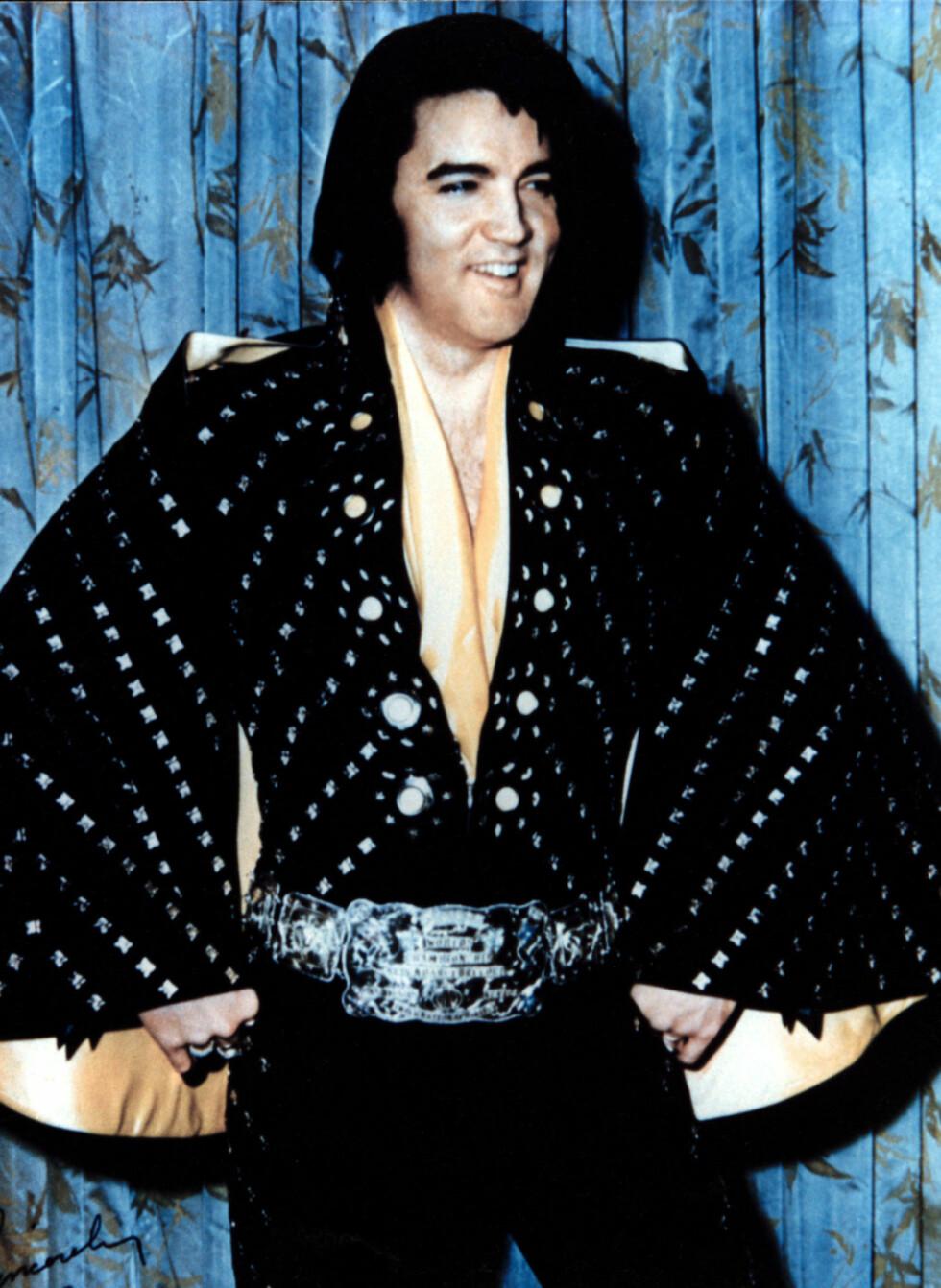 Elvis Presley ble 42 år gammel. Han døde 16. august 1977 av hjertesvikt. Foto: All Over Press