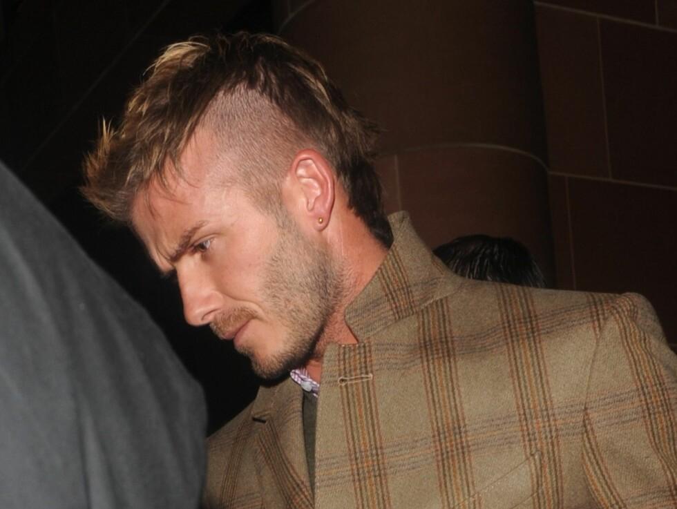Ny TREND: David Beckham har skiftet sveis en rekke ganger. Og nesten hver gang har det blitt en trend. Foto: All Over Press